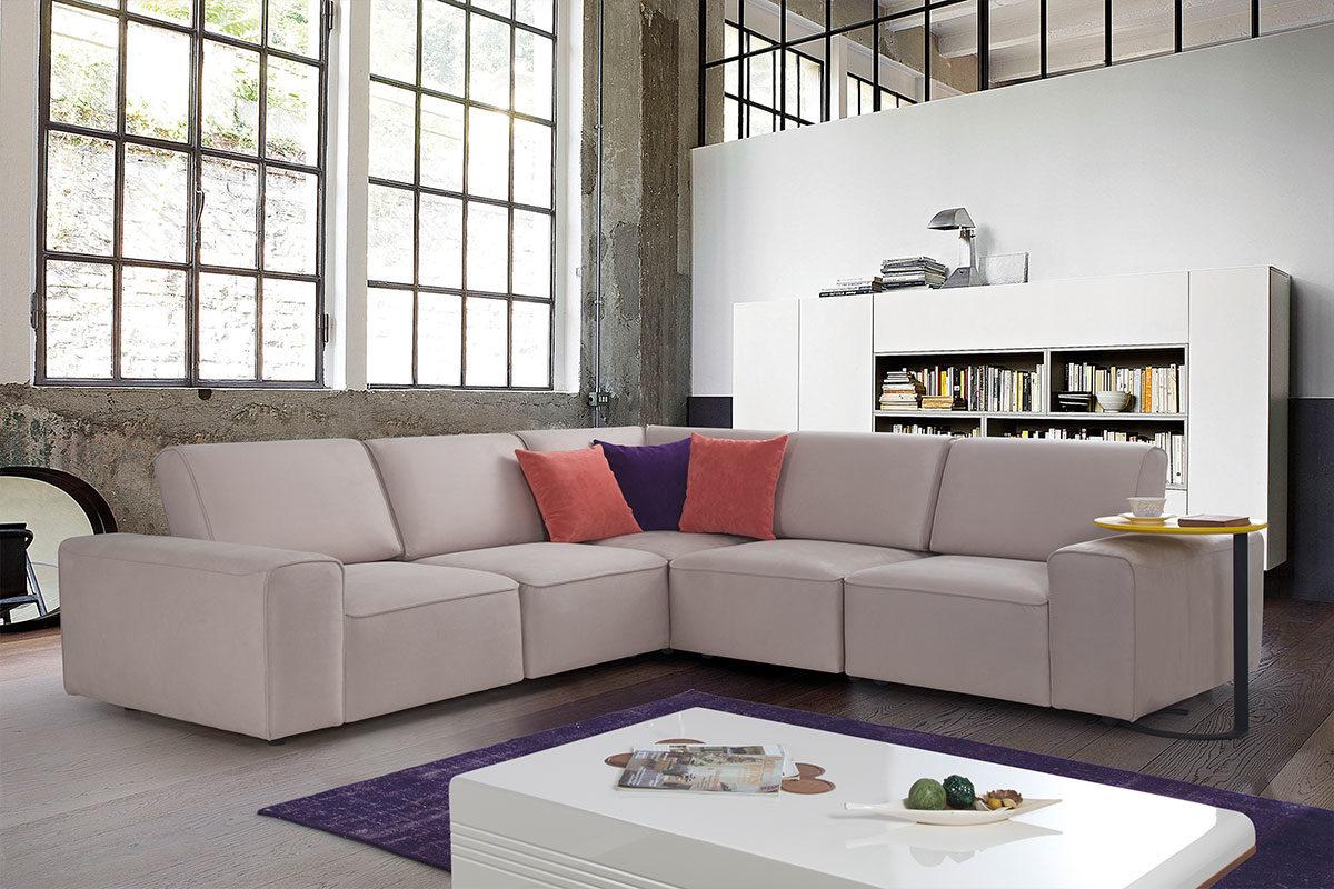Γωνιακός Καναπές Κρεβάτι Neo