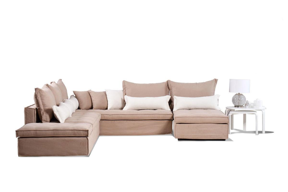 Γωνιακός καναπές Paros