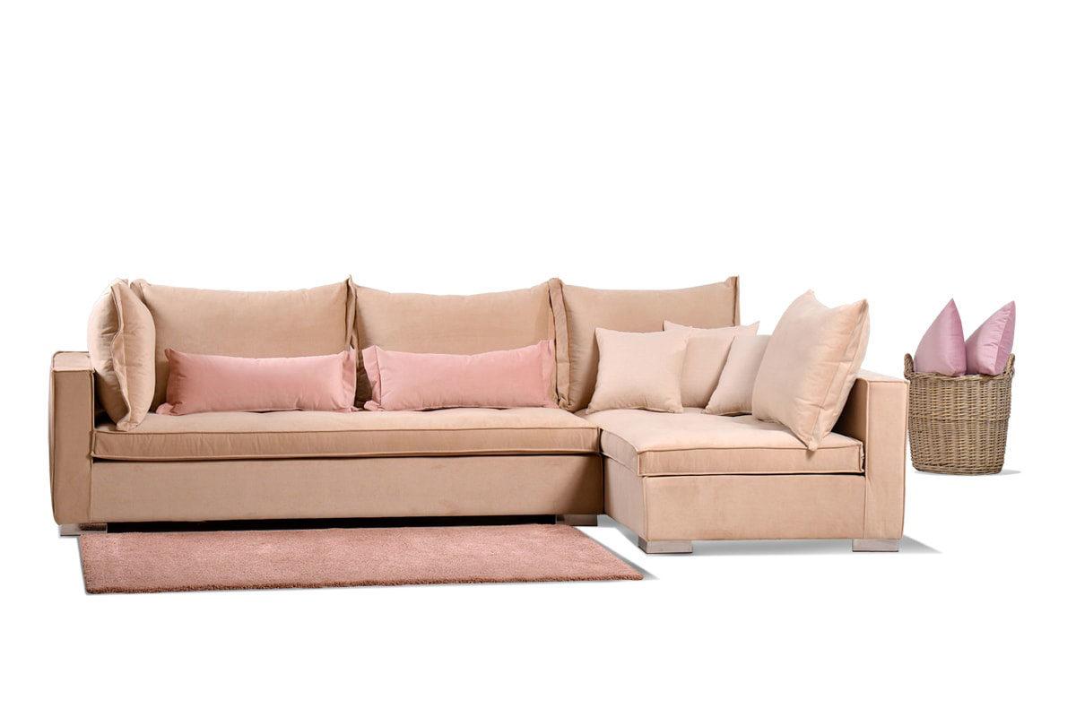 Γωνιακός καναπές Tinos
